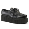 CREEPER-440 Black Leather